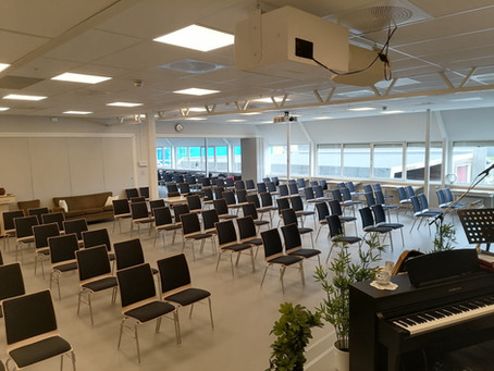 God plass i Misjonssalen