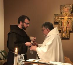Jude and Nathaniel Eucharist
