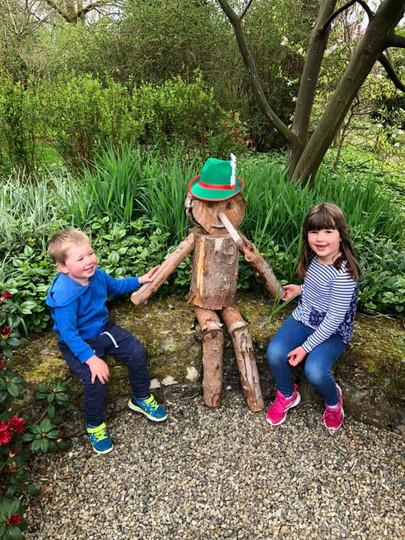 Pinocchio at Cae Hir Gardens