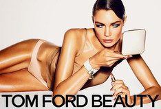 Александра Мартынова сняласть для Tom Ford Beauty