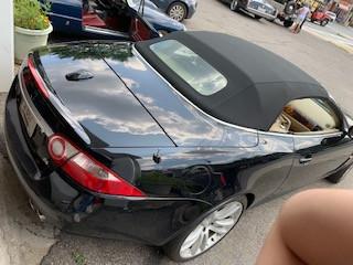 Jaguar New Convertible Top