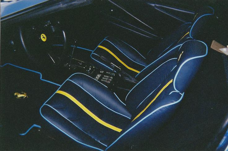 Custom Ferrari 308 interior