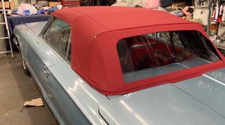 69 Ford Thunderbird Convertible Top