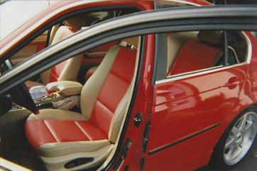 Custom BMW Interior