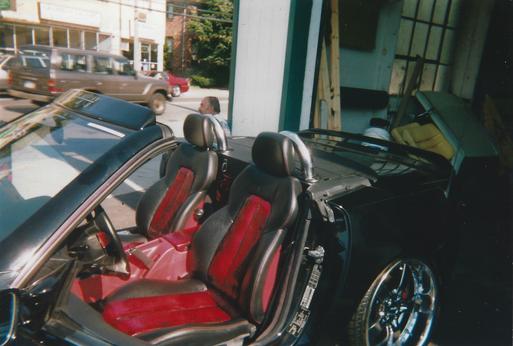 Custom Mercedes Interior