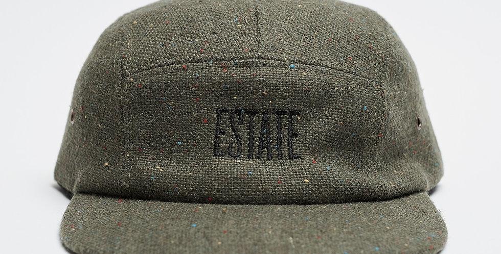 TWEED GREEN CAP