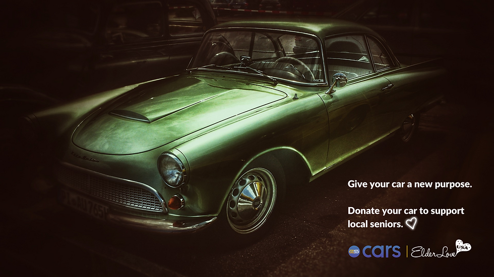Give your car a new purpose. Donate your