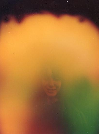Mum's aura photograph