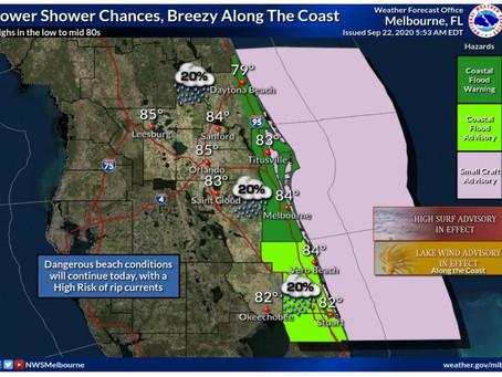 Coastal Flooding, Beach Erosion and Wind Advisory