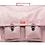 Thumbnail: CARTABLE GRANDE CLASSE GLITTER ROSE PAILLETTES