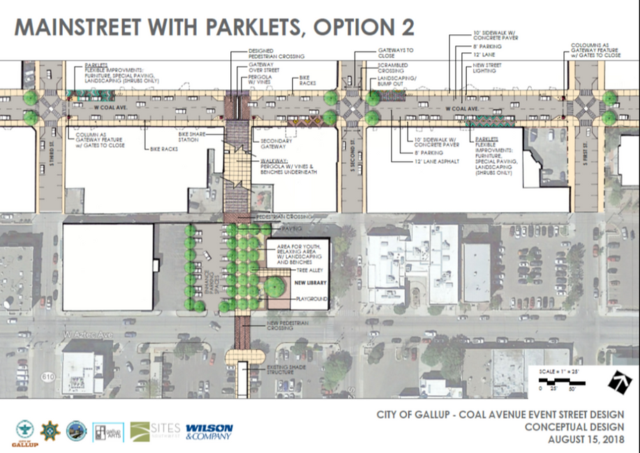 MainStreet with Parklets, Option #2.png