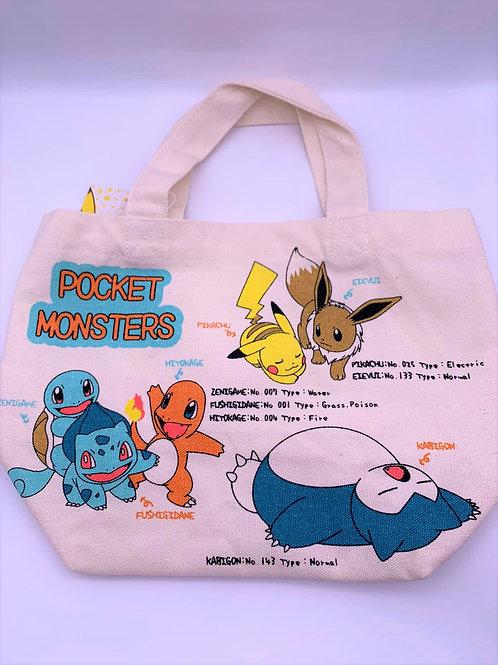 Pokemon 環保袋 (每款)