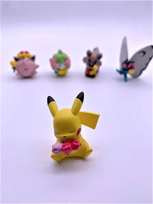 Pokemon 捧花系列扭蛋 (全套售 不設散賣)
