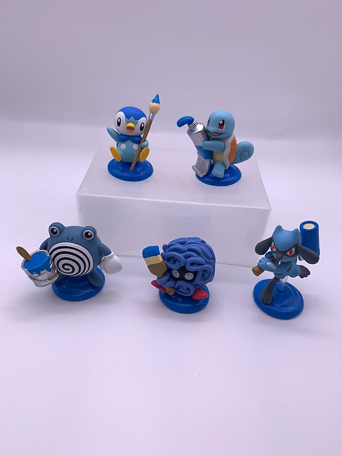 Pokemon 藍色畫家扭蛋 (全套售)