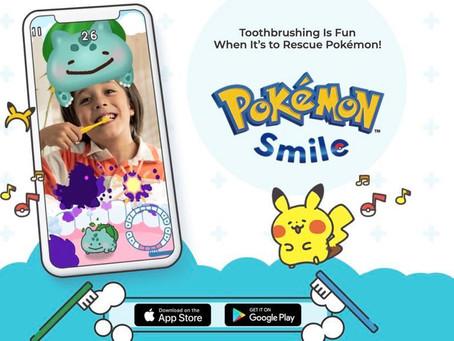 精靈寶可夢推出全新手機遊戲作品《Pokémon Smile》,等你地一齊刷牙捉精靈