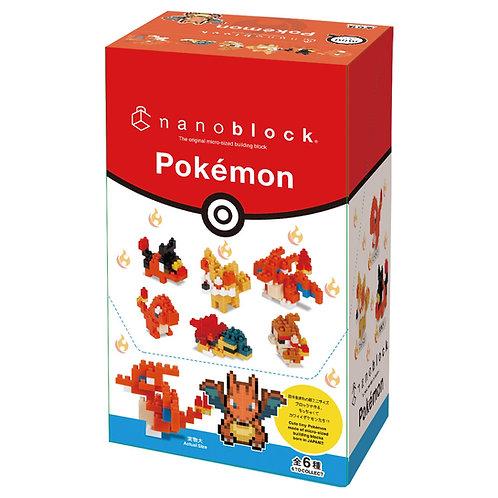 nanoblock x Pokémon火系屬性(迷你版)