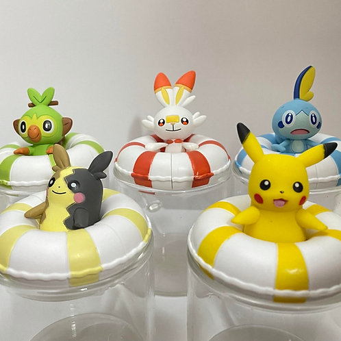 Pokemon 水泡系列扭蛋 (全套)