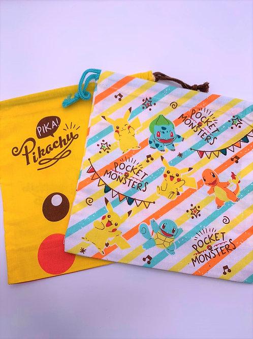 Pokemon 索線袋 (兩個裝)
