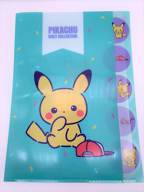 Pokemon 5層file (每款)