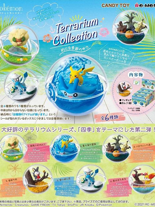 (預訂) Pokémon 場景球系列〜在更替的四季中〜 (全套)