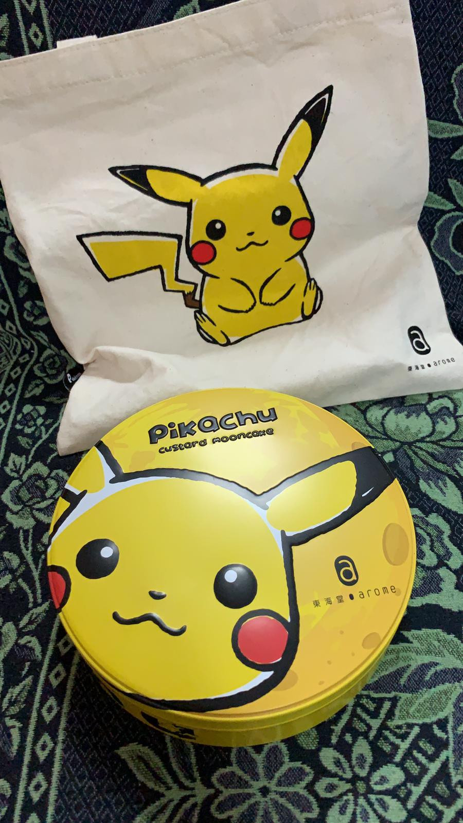 Pokemon 奶黃月餅 x 東海堂