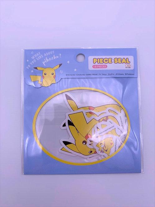 Pokemon 貼紙 (每款)