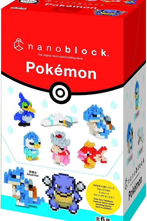 NANOBLOCK x Pokémon水系屬性(迷你版)