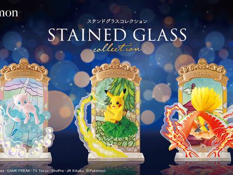 Pokémon STAINED GLASS Collection  - 哥德式玻璃彩繪藝術品
