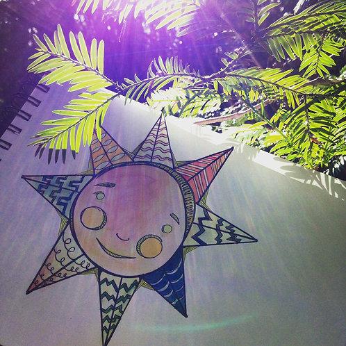 8 pack of Sunshine Prints