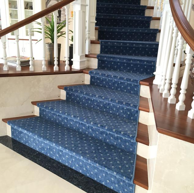 Escaliers en tapis, Ayent
