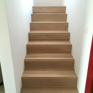Escaliers chêne Bauwerk, Conthey