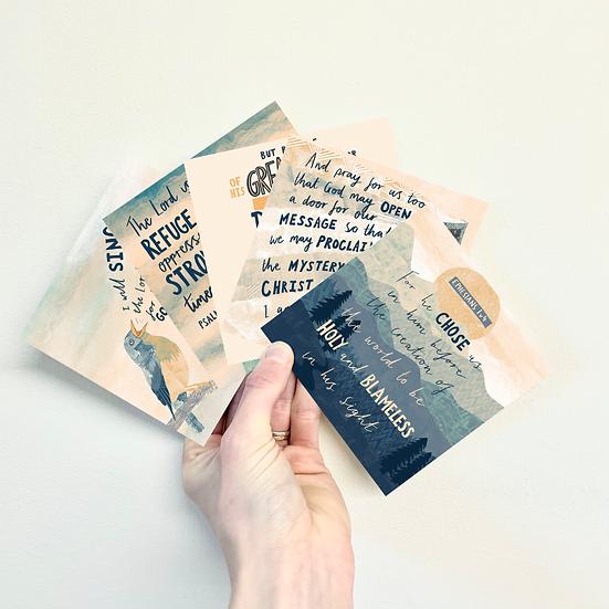 Bible Verse Postcards