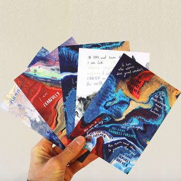 Psalm postcards