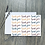 Thumbnail: Thank you card set