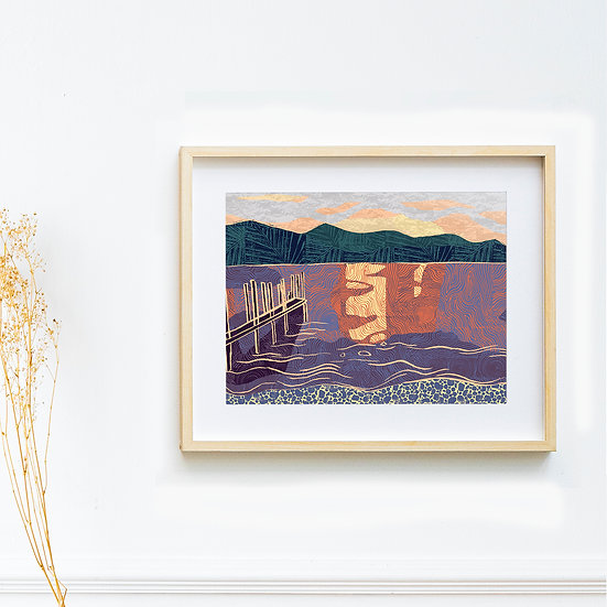 Art Print - Ashness, The Lake District