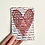 Thumbnail: Heart - Foiled Postcard
