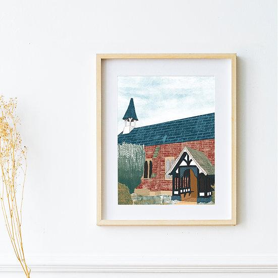 Art Print - Norcliffe Chapel, Styal