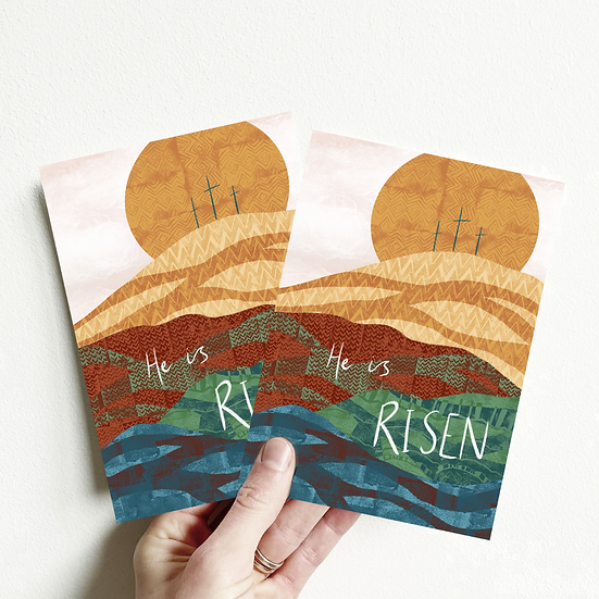 Easter Cards - He is Risen