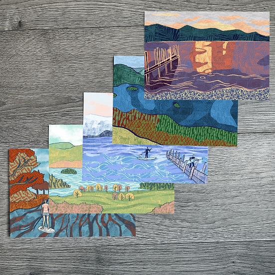 Lake District A5 Print Set