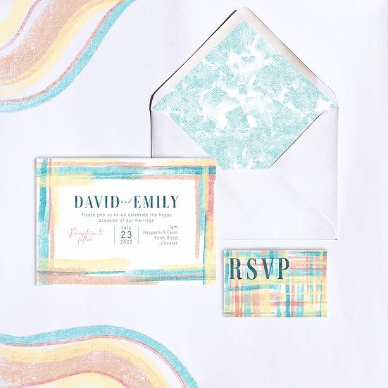 Wedding Invitation - Summer