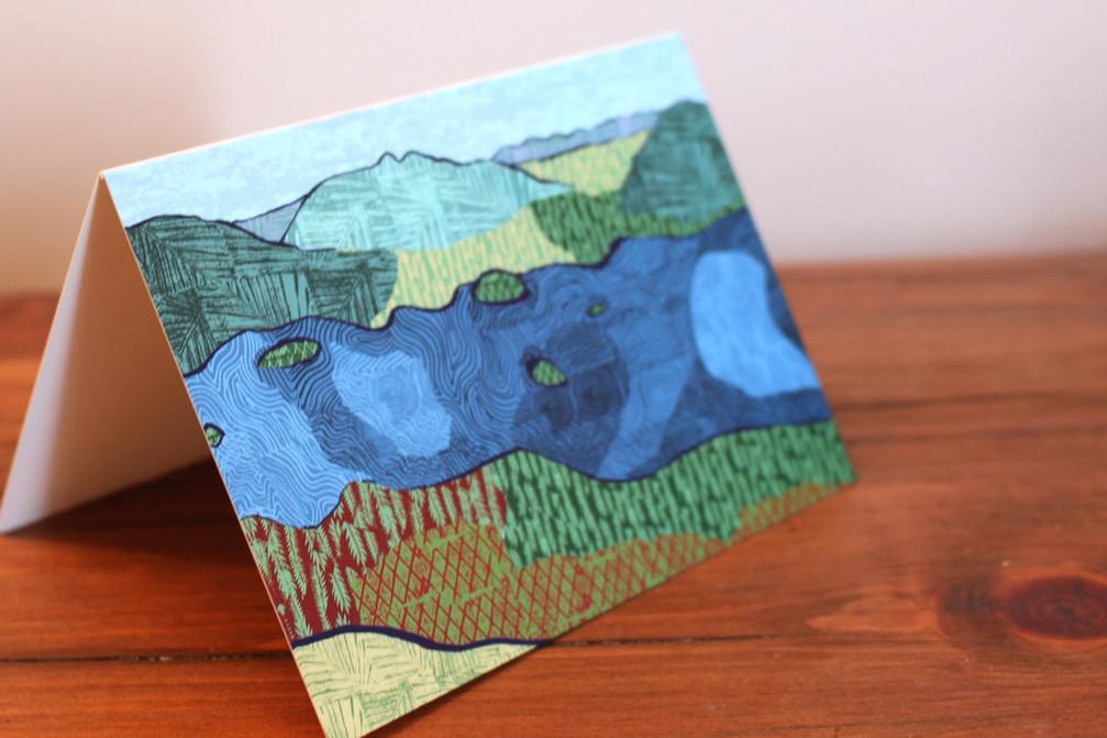 Catbells card