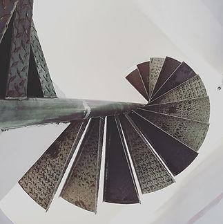 Escalier hélicoïdal 6 mètres  #felicelli
