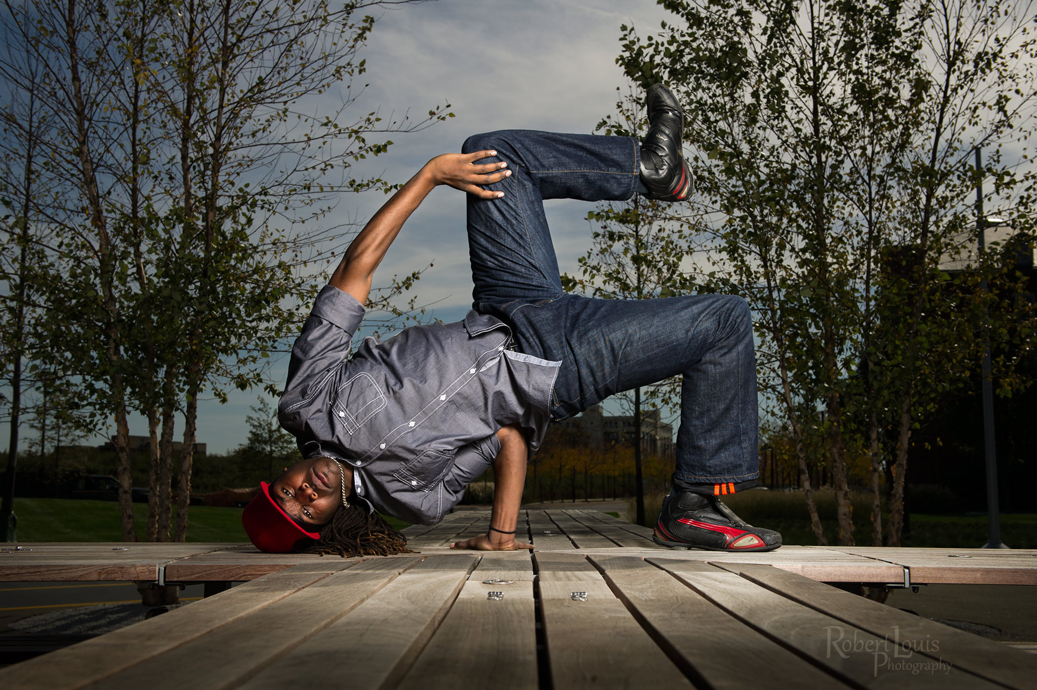 Bboy freeze of Tyger-B