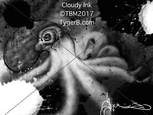 Cloudy Ink ©TBM2017 TygerB.com