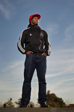 Profile shot of Tyger-B