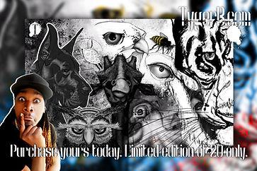 new art artist tyger b animal