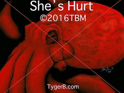 """She's Hurt"" Tyger-B 2016TBM"