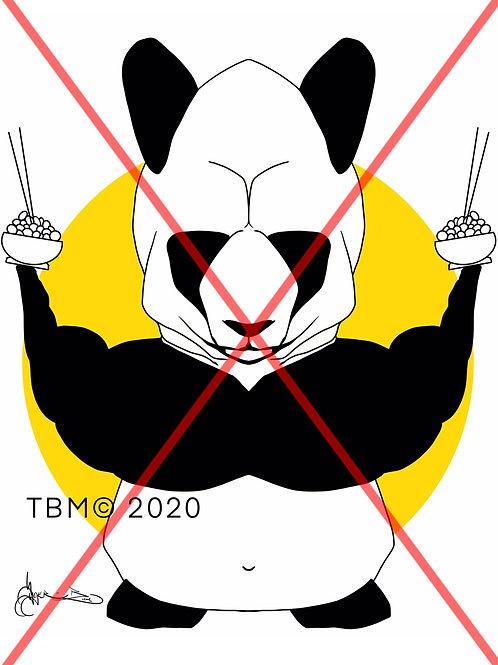 """Hungry Panda"" ©TBM2020 TygerB.com"