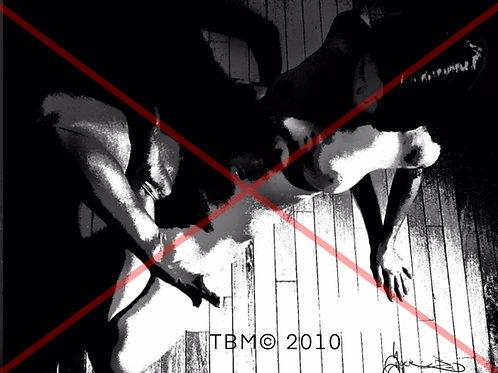 """A Yoga Stretch Goal"" ©TBM2010 TygerB.com"