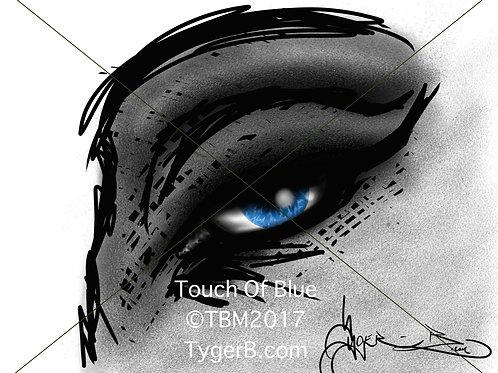 Touch Of Blue ©TBM2017 TygerB.com
